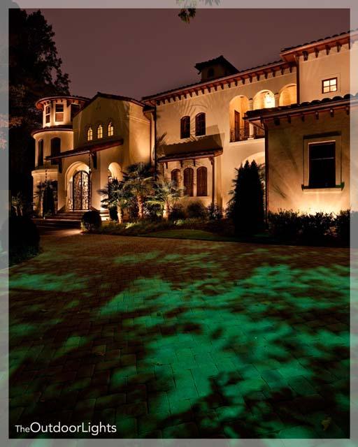 Landscape Lighting Aerial